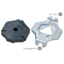 DuoSpoke Wrench for DT/Campagnolo wheel set