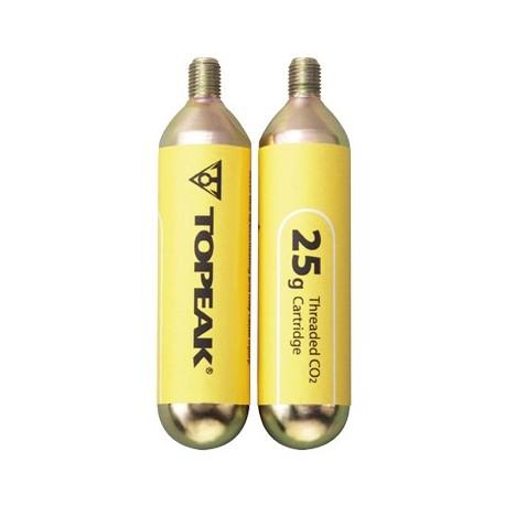 Threaded 25g CO2 Cartridge