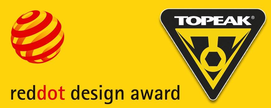 Topeak ganador de los Red Dot Award 2016 al Diseño del Producto